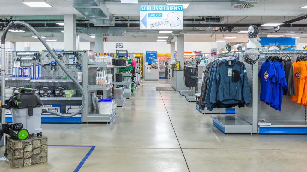 HEES + PETERS_Fachbereiche_Arbeitskleidung, Arbeitsschutz und Betriebseinrichtung